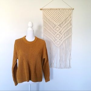 Madewell Joslin Pullover Sweater In Golden Harvest